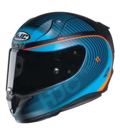 ΚΡΑΝΟΣ FULL FACE HJC RPHA 11 BINE MC46HSF MATT BLUE ORANGE