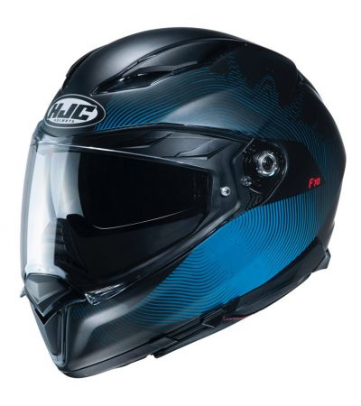 ΚΡΑΝΟΣ FULL FACE HJC F70 SAMOS MC2SF MATT BLACK BLUE