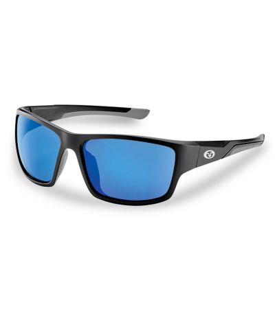 ΓΥΑΛΙΑ ΗΛΙΟΥ FLYING FISHERMAN SAND BANK MATTE BLK-BLU MIRROR 7712
