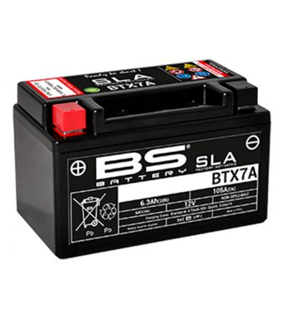 ΜΠΑΤΑΡΙA BS BATTERY BS BTX7A SLA
