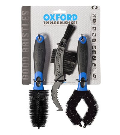 ΣΕΤ ΒΟΥΡΤΣΑΣ OXFORD TRIPPLE BRUSH SET OX738