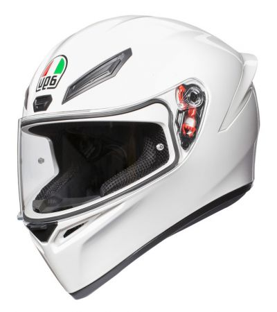 ΚΡΑΝΟΣ FULL FACE AGV K1 SOLID WHITE
