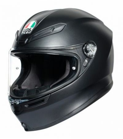 ΚΡΑΝΟΣ FULL FACE AGV K6 MONO MATT BLACK