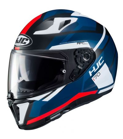 ΚΡΑΝΟΣ FULL FACE HJC i70 ELIM MC1SF BLACK/BLUE/RED/WHITE