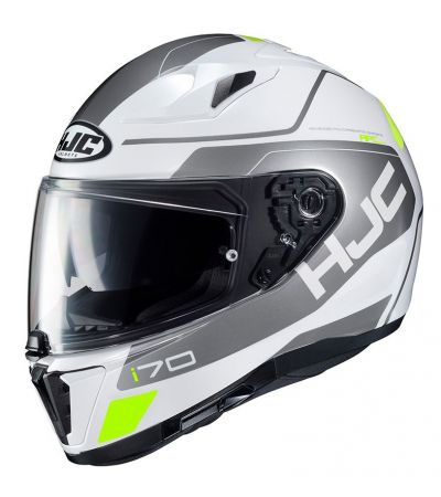 ΚΡΑΝΟΣ FULL FACE HJC i70 KARON MC-10 WHITE/SILVER/FLUO