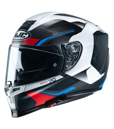 ΚΡΑΝΟΣ FULL FACE HJC RPHA 70 KOSIS MC21SF WHITE BLUE RED