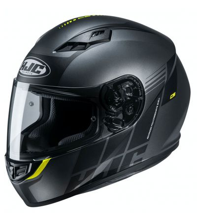 ΚΡΑΝΟΣ FULL FACE HJC CS-15 MYLO MC5SF MATT TITANIUM FLUO