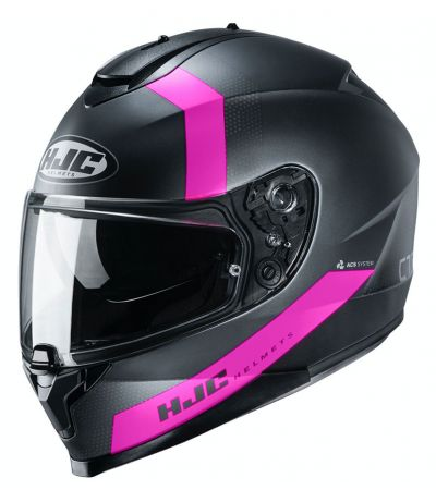ΚΡΑΝΟΣ FULL FACE HJC C70 EURA MC8SF MATT TITANIUM PINK