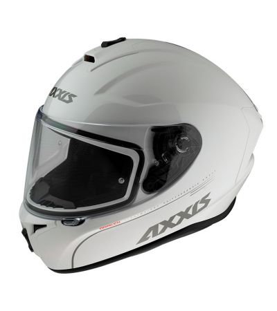 ΚΡΑΝΟΣ FULL FACE AXXIS AXXIS SOLID WHITE V2 A010