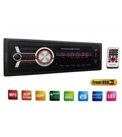 RADIO MP3/USB/SD/AUX PLAYER ΑΥΤΟΚΙΝΗΤΟΥ OEM 1784