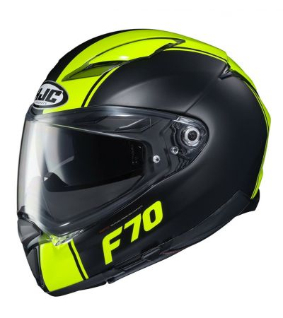ΚΡΑΝΟΣ FULL FACE HJC F70 MAGO MC4HSF BLACK/FLUO