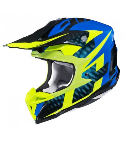 ΚΡΑΝΟΣ ENDURO HJC i50 ARGOS MC23 BLUE BLACK YELLOW