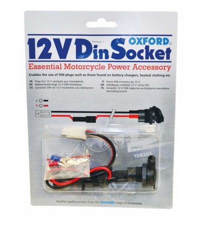 OXFORD 12V SAE/DIN SOCKET & 10A 1.2m