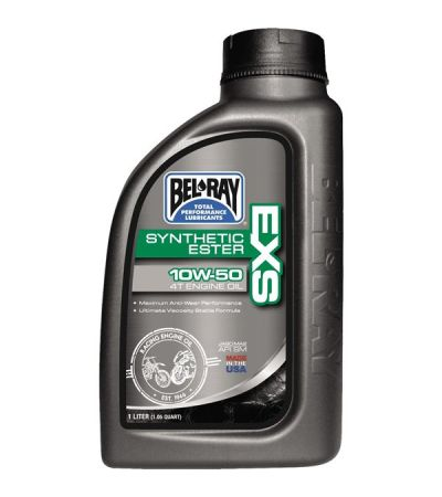 BEL-RAY EXS 10W-50 4T ENGINE OIL  1LTR