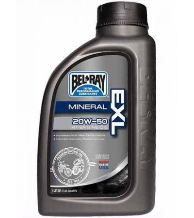 BEL-RAY EXL 20W-50 4T ENGINE OIL 1LTR
