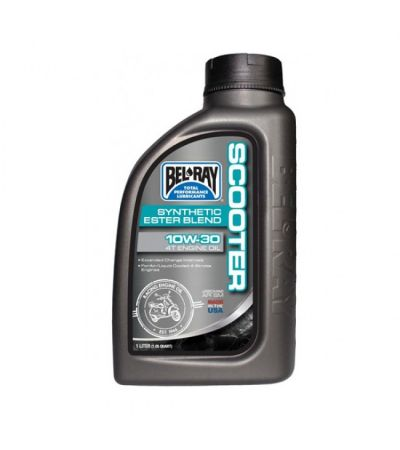 BEL-RAY SCOOTER  10W-30 4T ENGINE OIL 1LTR