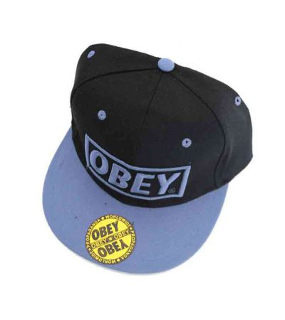 ΚΑΠΕΛΟ  OBEY  LIGHT BLUE KIDS