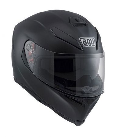 AGV K-5 SOLID BLACK MATT