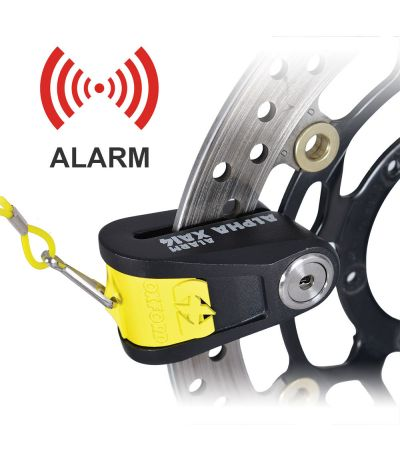 OXFORD ALPHA XA14 ALARM DISC LOCK 14MM