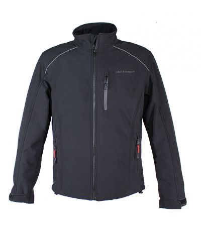 AGVPRO URBANO SOFT SHELL WINTER JACKET BLACK