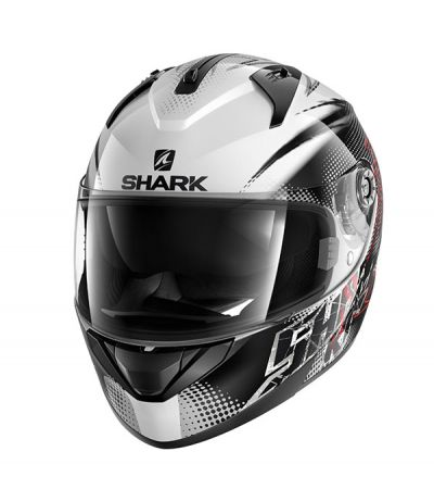 SHARK RIDILL FINKS WHITE BLACK RED/WKR