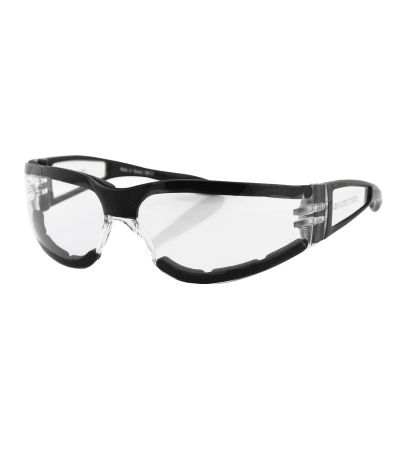 BOBSTER SHIELD 2 ESH203 BLACK/CLEAR