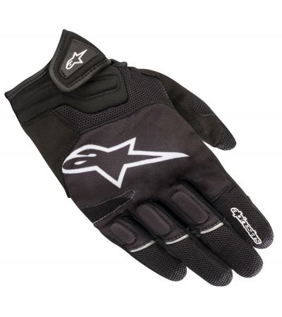 ALPINESTARS ATOM GLOVES BLACK WHITE