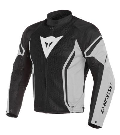 DAINESE AIR CRONO 2TEX BLACK/GLACIER-GRAY/BLACK