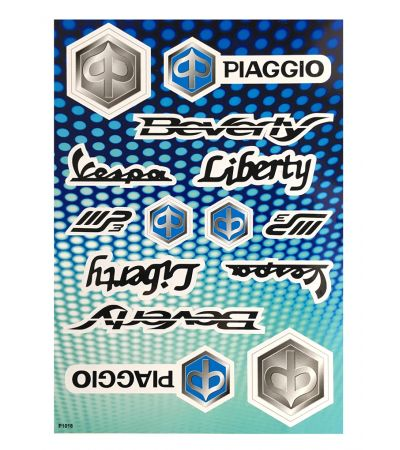 PIAGGIO STICKER COLLECTION