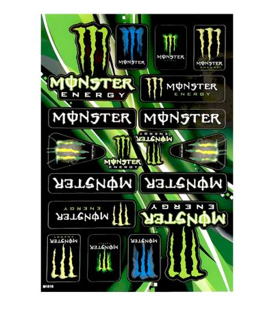 MONSTER STICKER COLLECTION