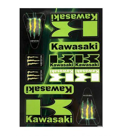 KAWASAKI STICKER COLLECTION
