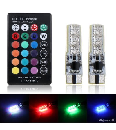 T10 LED MULTI COLOR
