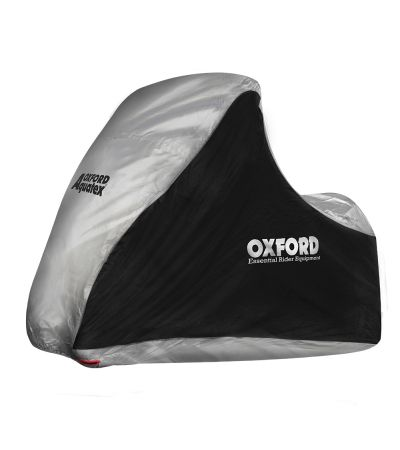 OXFORD AQUATEX MP3 3/WHEELER BLACK/SILVER CV215