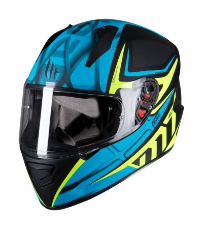 ΚΡΑΝΟΣ FULL FACE MT STINGER ACERO C1 MATT BLUE