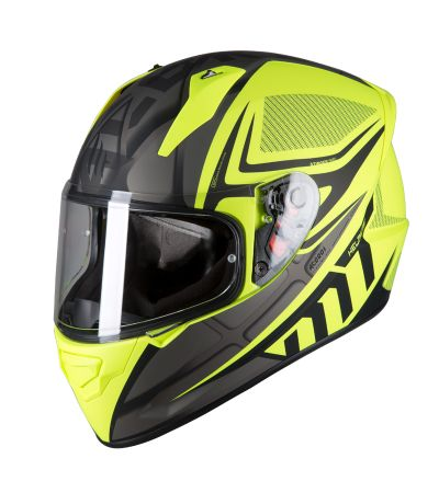 ΚΡΑΝΟΣ FULL FACE MT STINGER ACERO B2 MATT FLUOR YELLOW