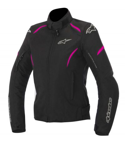 ALPINESTARS STELLA GUNNER  WATERPROOF JACKET BLACK/FUCHSIA