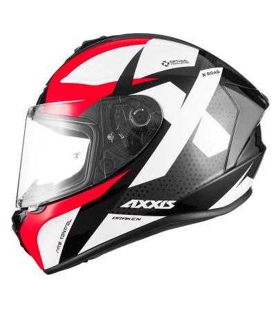 ΚΡΑΝΟΣ FULL FACE AXXIS DRAKEN X-ROAD B2 RED