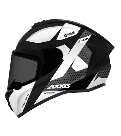 ΚΡΑΝΟΣ FULL FACE AXXIS DRAKEN X-ROAD B6 BLACK