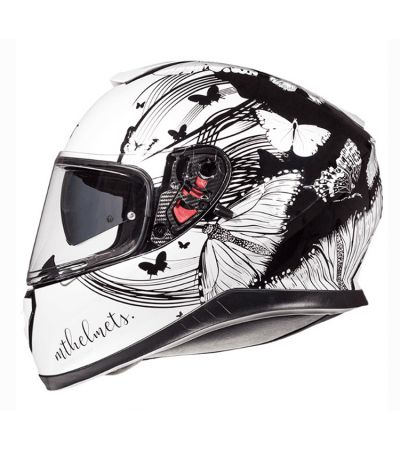 ΚΡΑΝΟΣ FULL FACE MT THUNDER 3 SV VLINDER WHITE/BLACK