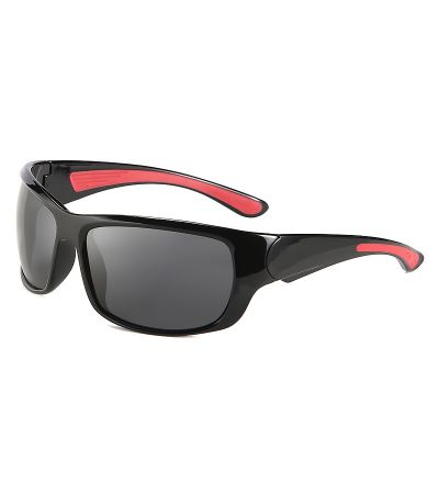 ΓΥΑΛΙΑ ΗΛΙΟΥ POLAREYE PTE2110 BLACK SHINING/RED POLARIZED