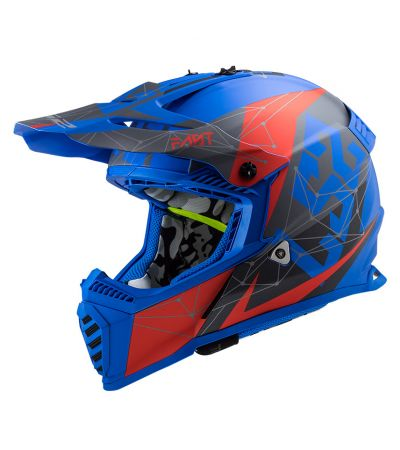 ΚΡΑΝΟΣ ENDURO LS2 FAST EVO MX437 ALPHA MATT BLUE