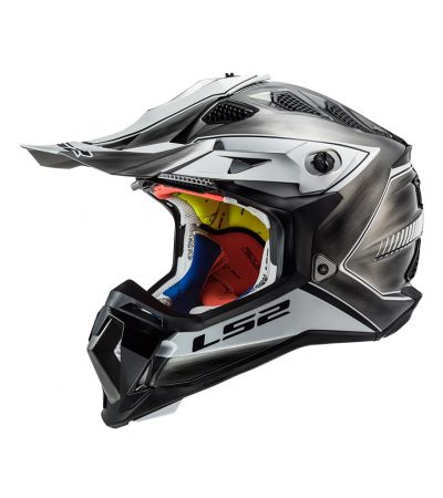 ΚΡΑΝΟΣ ENDURO LS2 SUBVERTER MX470 POWER WHITE GREY