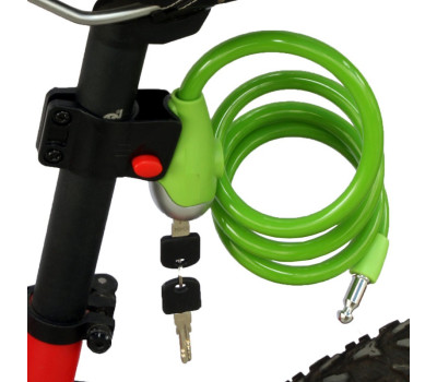 Cable Key Bike Lock-200  120cm