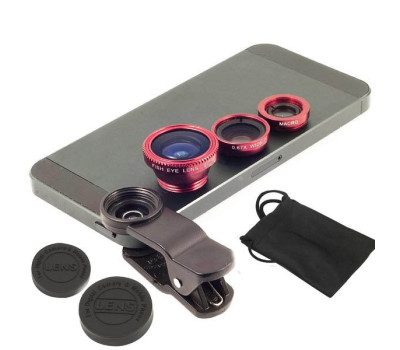 3 In 1 Universal Clip Mobile Phone