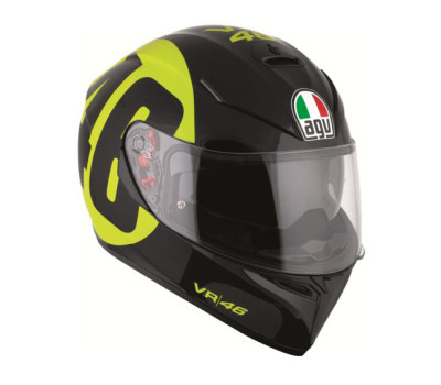 AGV K3 SV Bollo 46 Black/Yellow