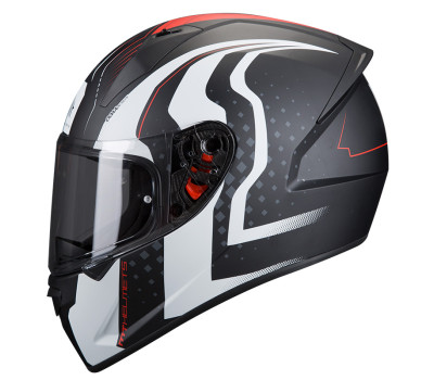 ΜΤ Stinger Warhead Black Matt/White/Red