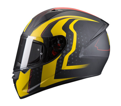 MT Stinger Warhead Black Matt/Yellow