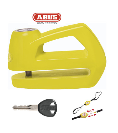 ABUS Element 285  Disc Lock 5mm yellow