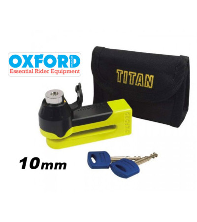 Κλειδαριά δίσκου Disk Lock OXFORD OF51 Titan Yellow