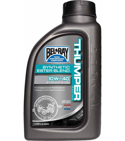 BEL-RAY THUMPER 10W-40 4T Engine Oil 1ltr